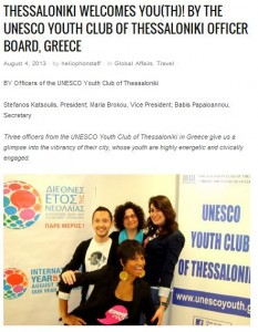 Thessaloniki Welcomes Youth