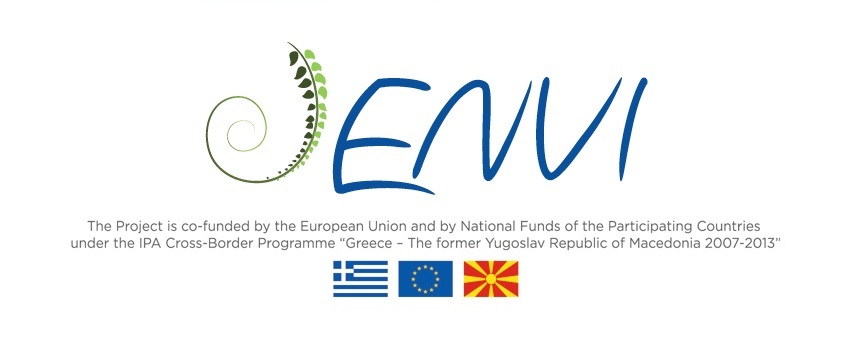 "ΕNVI – Local Communuties in Environmental Action, IPA Cross-Border Programme ""Greece – the former Yugoslav Republic of Macedonia"" – 2007-2013"