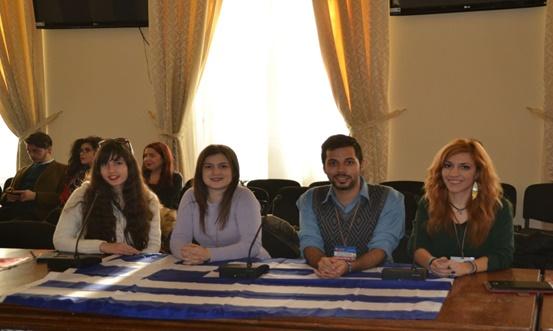 Η ελληνική συμμετοχή στο πρόγραμμα με την UNESCO Youth Club Θεσσαλονίκης, κατά το debate για την αξία της μη τυπικής μάθησης.