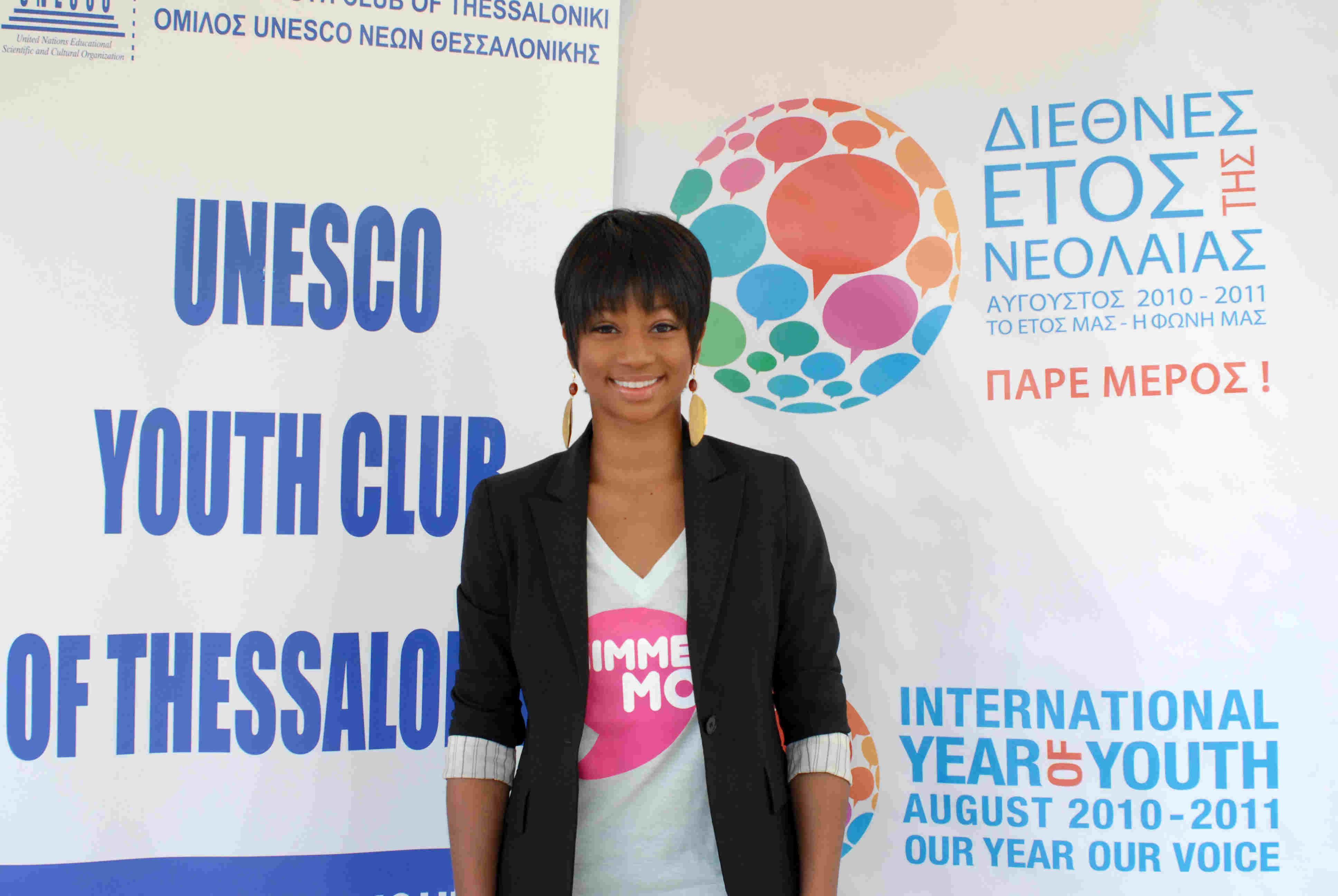 Η Monique Coleman στη Θεσσαλονίκη