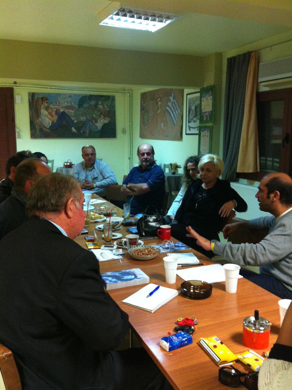 Ενημέρωση για θέματα νεολαίας στο Φίλυρο Θεσσαλονίκης