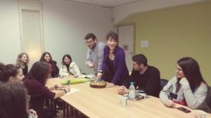 1η συνάντηση εθελοντών 2015 και κοπή πίτας