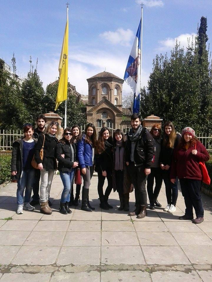 Πραγματοποίηση 2ης ξενάγησης στην πολιτιστική κληρονομιά της Θεσσαλονίκης