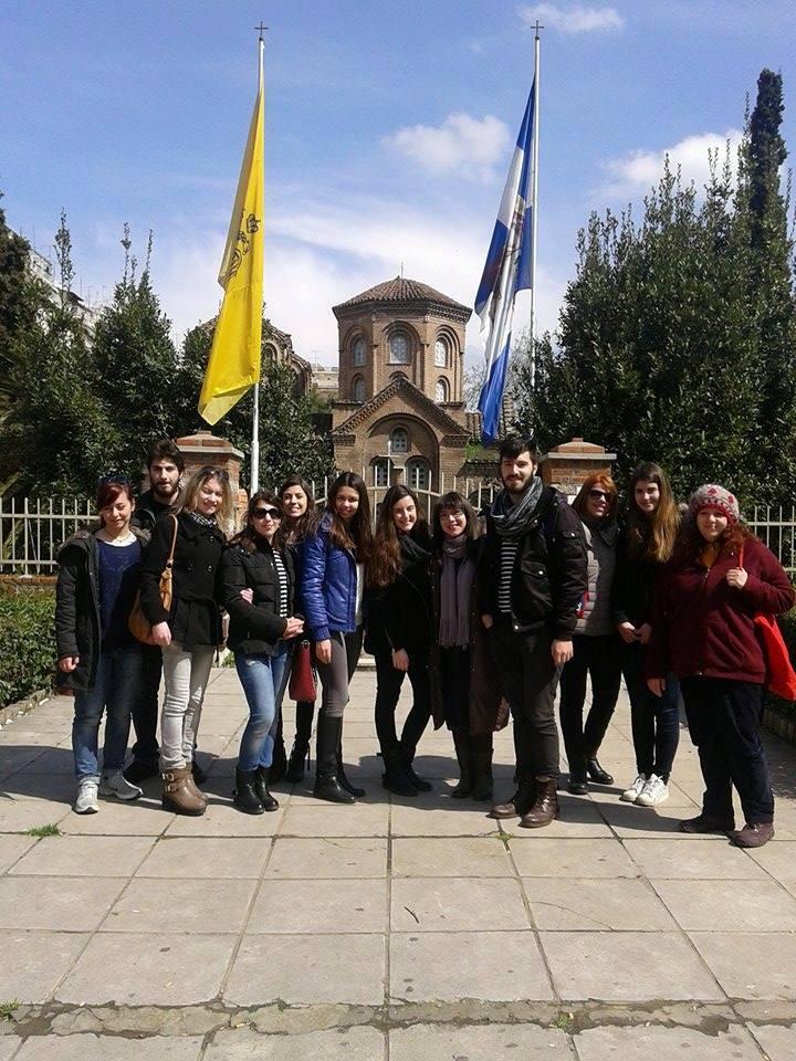 Επισκόπηση των Ξεναγήσεων Μνημεία Παγκόσμιας Πολιτιστικής Κληρονομιάς της Θεσσαλονίκης.