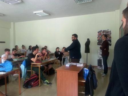 """Εκδήλωση για την Ημέρα της Ευρώπης – Αρσάκειο Λύκειο Θεσσαλονίκης: Διάλεξη με θέμα """"Τα Δικαιώματα των Νέων στην Ευρωπαϊκή Ένωση"""""""