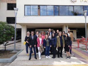 Επίσκεψη φοιτητών και καθηγητών από το πανεπιστήμιο Κύριλλος και Μεθόδιος στο πανεπιστήμιο Μακεδονίας