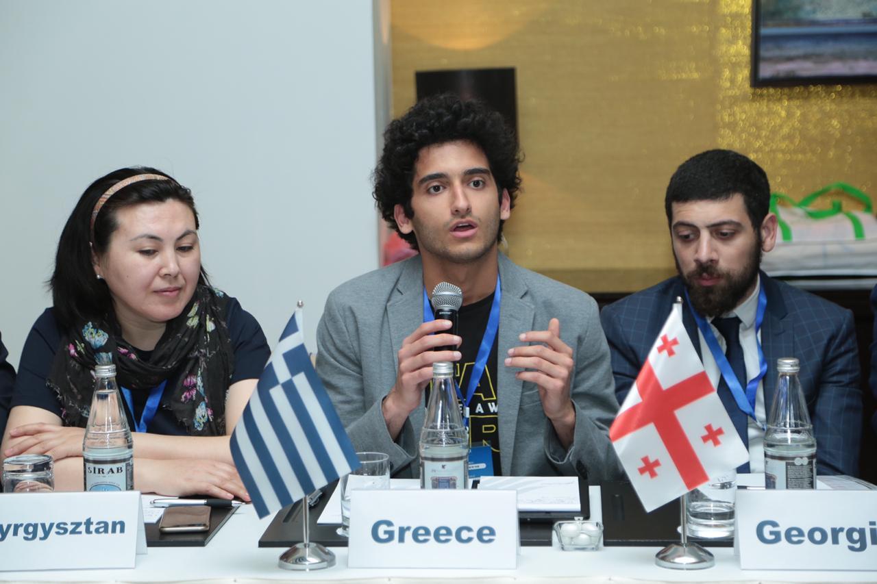 Εκλογή Έλληνα Αντιπροέδρου στη διεθνή ένωση νεολαίας «Great Silk Way»